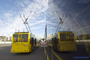 Second batch of Belarusian trolleybuses arrives in Zhytomyr