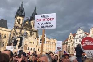 Тисячі чехів знову вийшли на протест проти нового міністра юстиції