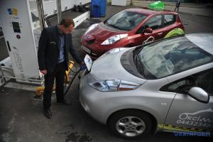 Український ринок електрокарів за квітень зріс на 6%