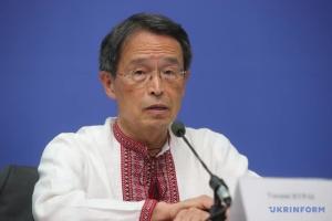 Посол Японії привітав українців з днем вишиванки