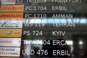 Два аэропорта Турции начали писать Kyiv вместо Kiev
