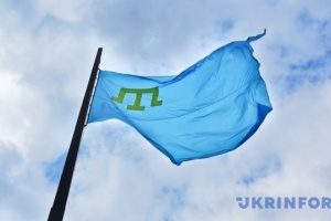 Джемілєв узяв участь у піднятті кримськотатарського прапора в Едмонтоні
