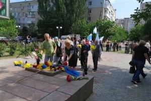 У Херсоні вшанували пам'ять жертв політичних репресій