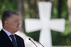 ポロシェンコ大統領、過去5年間の自身の任期を振り返り「ウクライナを守り、ノヴォロシアを葬った」