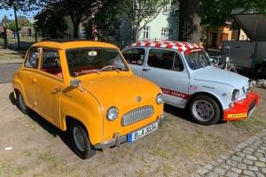 Фестиваль в Германии собрал несколько сотен ретро-автомобилей