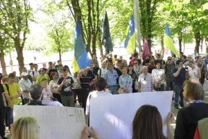 Біля погруддя Жукова в Харкові спалахнув скандал