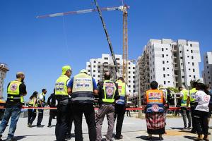 Підйомний кран в Ізраїлі вбив чотирьох будівельників