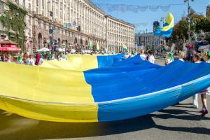 Prawie 90% Ukraińców popiera niepodległość Ukrainy