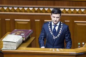 Зеленський заявив, що його перший указ буде про розпуск Ради