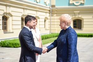 """Президент Литви закликала Зеленського """"розчавити"""" олігархічну систему"""
