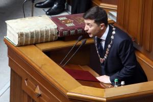 """Народний фронт назвав заяву Зеленського про розпуск Ради """"політичним рішенням"""""""