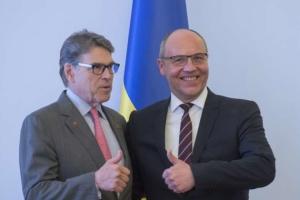 Парубій подякував делегації США за підтримку України