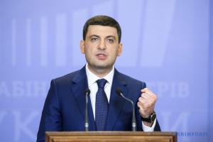 Parlamentswahlen: Hrojsman nennt seine drei Aufgaben