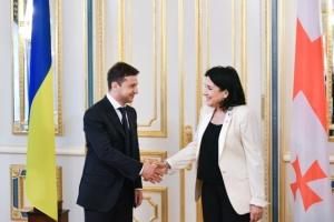 Грузинский опыт борьбы с коррупцией является примером для Украины - Зеленский