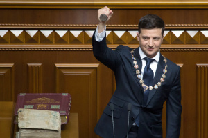 Zelensky signs decree dissolving parliament, sets snap elections for July 21