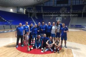 Женская сборная Украины начала сбор перед Евробаскет-2019