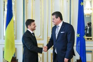 Зеленський розраховує на підтримку Європи щодо укладення газового контракту з РФ