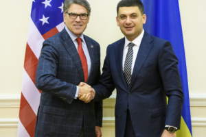 Groysman invites U.S. energy secretary to unite efforts to counter Nord Stream 2