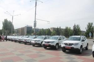 Сільським амбулаторіям на Запоріжжі передали 17 автомобілів