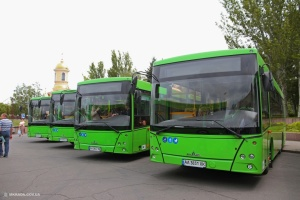 Николаев получил 23 современных автобуса за счет кредитных средств ЕБРР
