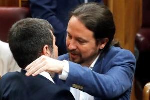 Заключенных каталонских депутатов привезли в парламент Испании