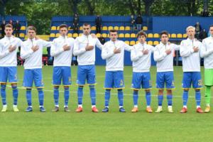 Футбол: сборная Украины U-18 проиграла Испании на Кубке Словакии