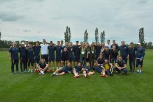 Збірна України U-20 в Польщі провела зустріч із працівниками ФІФА