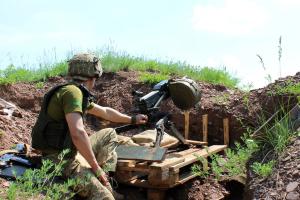 11 Angriffe des Feindes, ein Soldat verwundet