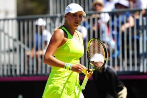 Людмила Кіченок зачохлила ракетку на старті парного турніру WTA у Страсбурзі
