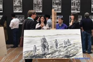 В Анкарі представили виставку про депортацію кримських татар
