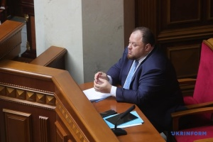 Stefanchuk: Open list election system is principled position of President