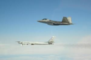 Американські винищувачі вдруге за два дні перехопили бомбардувальники РФ біля Аляски