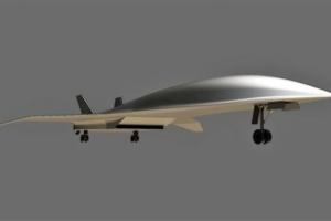 В США планируют разработать самолет, скорость которого в 5 раз превышать скорость звука