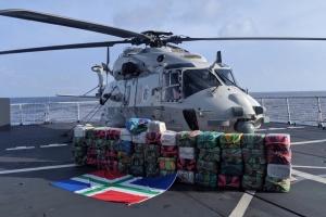 Нідерландський корабель перехопив понад 1,5 тонни кокаїну