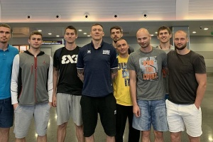 Баскетбол 3х3: мужская сборная Украины сыграет на турнире Ghetto Basket в Риге