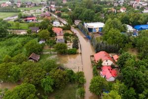 В Польше непогода повалила деревья и подтопила дома