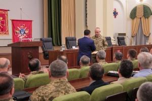 Полторак представил военным нового главу Генштаба
