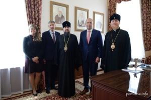 Епіфаній зустрівся із керівництвом Світового конґресу українців