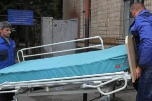 ドニプロ市病院で、重傷の軍人が死亡