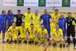 Українські футзалісти з вадами зору стали переможцями турніру в Іспанії