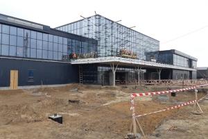 У Запоріжжі майже завершили будівництво нового терміналу аеропорту
