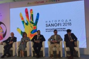 Посол Франції нагородила молодих українських учених