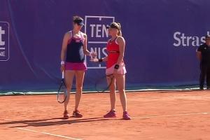 Ястремская пробилась в парный полуфинал на теннисном турнире в Страсбурге