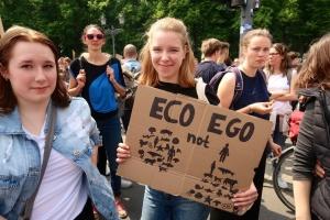 """Немецкие школьники вышли на """"климатический"""" митинг и призвали идти на евровыборы"""