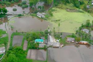 Сильные дожди подтопили более 230 хозяйств в двух областях