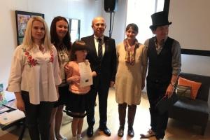 В Любляні завершився українсько-словенський дитячий проект «Подорож Україною»