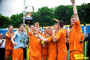 Збірна НУФВСУ-МАУП виграла футбольний чемпіонат Києва серед студентів