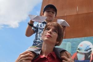 Aktion zu Unterstützung von Marinesoldaten auf dem Maidan - Fotos