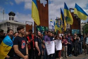Учасники акції на підтримку полонених моряків звернулися до Зеленського