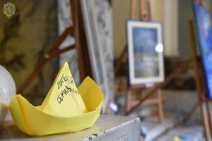 Виставка на підтримку полонених моряків відкрилась у Львові